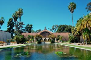 Balboa Park in San Diego with Architecture. by Songquan Deng