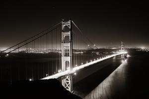 Golden Gate Bridge in San Francisco as the Famous Landmark. by Songquan Deng