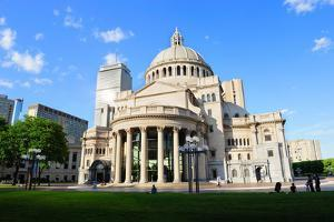 The First Church of Christ Scientist in Christian Science Plaza in Boston by Songquan Deng