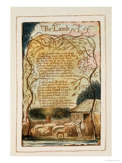 Songs of Innocence-William Blake-Giclee Print