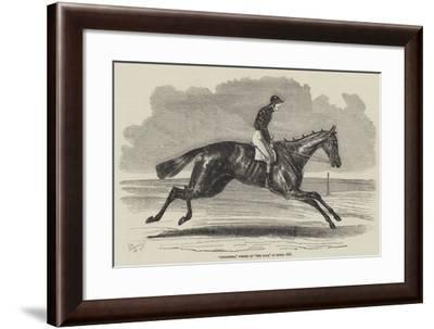 Songstress, Winner of The Oaks, at Epsom, 1852-Benjamin Herring-Framed Giclee Print