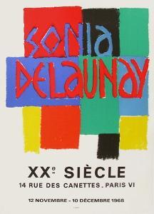 Expo 68 - XXème Siècle by Sonia Delaunay-Terk