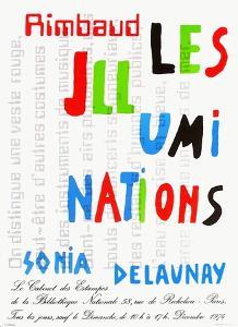 Expo 74 - Bibliothèque Nationale by Sonia Delaunay-Terk