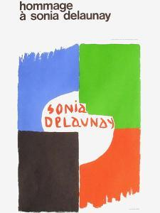Expo 75 - Centre National Georges Pompidou by Sonia Delaunay-Terk