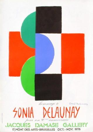Expo 75 - Galerie Jacques Damase by Sonia Delaunay-Terk