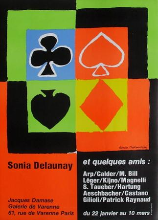 Expo 76 - Galerie de Varenne Jacques Damase by Sonia Delaunay-Terk