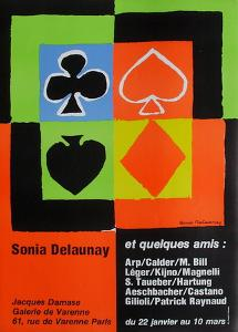 Expo 76 - Galerie de Varenne Jacques Damase by Sonia Delaunay-Terk