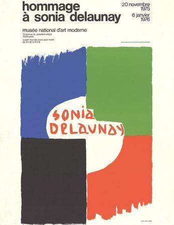Tribute to Sonia Delaunay