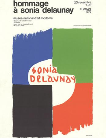 Tribute to Sonia Delaunay by Sonia Delaunay