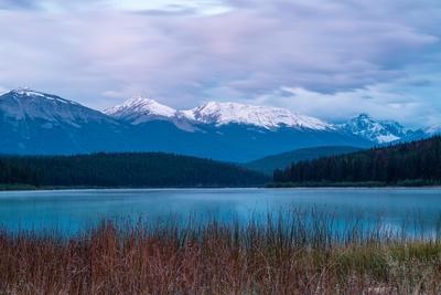 Patricia Lake, Whistlers Peak, Canadian Rocky Mountains