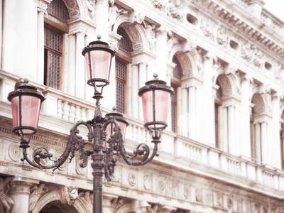 Venice Pink Lanterns I