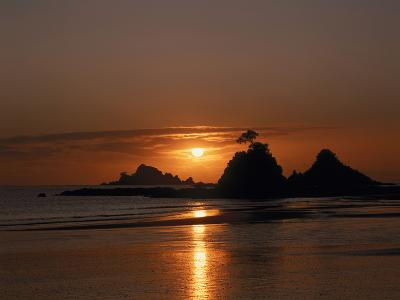 Sonnenuntergang Am Meer, Abendstimmung, Meer-Thonig-Photographic Print