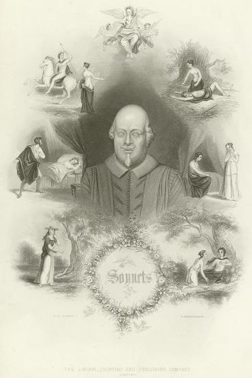 Sonnets by William Shakespeare--Giclee Print