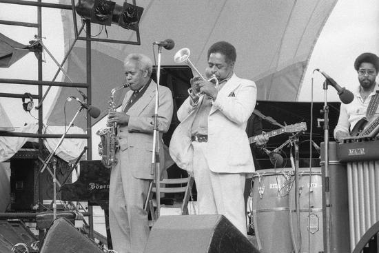 Sonny Stitt and Dizzy Gillespie, Capital Jazz, 1979-Brian O'Connor-Photographic Print