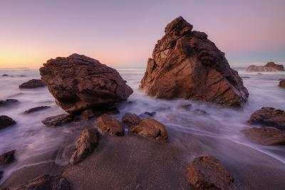 Sonoma Coast Morning Seascape-Vincent James-Photographic Print