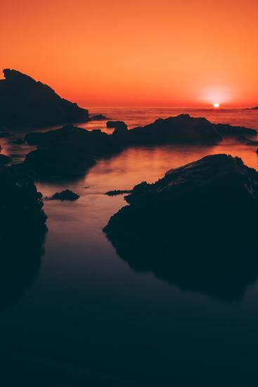 Sonoma Coast Sunset, Northern California--Photographic Print