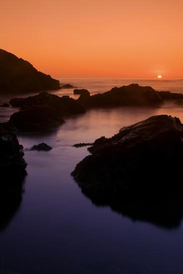 Sonoma Sunset-Vincent James-Photographic Print