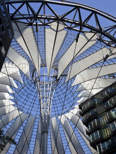 Sony Center, Potsdammer Platz, Berlin, Germany-Jon Arnold-Photographic Print