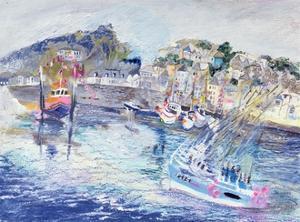 Fishing Harbour, Newlyn, Cornwall, 2005 by Sophia Elliot