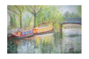 Little Venice, Regent's Canal, 1996 by Sophia Elliot
