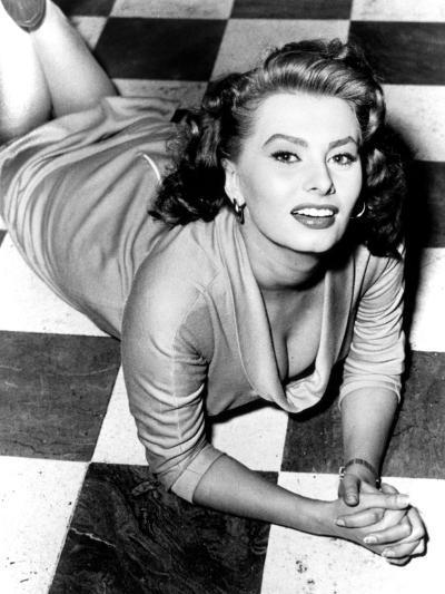 Sophia Loren, circa 1950s--Photo