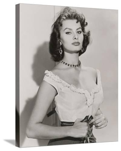 Sophia Loren III-The Vintage Collection-Stretched Canvas Print