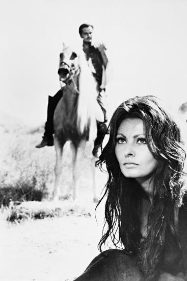 Sophia Loren, Omar Sharif, More Than a Miracle,1967 (C'Era Una Volta..)--Photographic Print