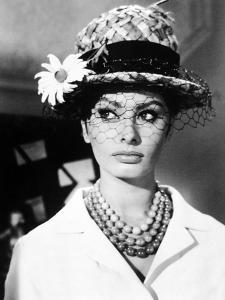 """Sophia Loren. """"The Millionairess"""" 1960, Directed by Anthony Asquith"""