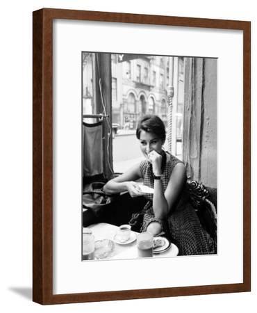 Sophia Loren-Peter Stackpole-Framed Premium Photographic Print
