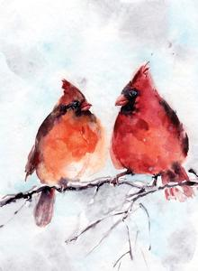 Cardinals by Sophia Rodionov
