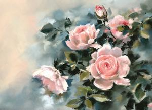 Pink Rose Luster by Sophia Rodionov