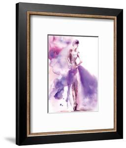 Purple Ballerina I by Sophia Rodionov
