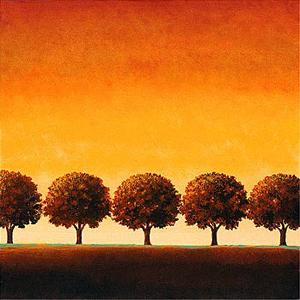 Sunset Valley I by Sophia Sanchez