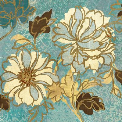 Sophias Flowers I Blue-Hugo Wild-Premium Giclee Print