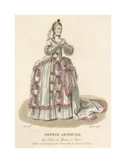 Sophie Arnould-Louis-Marie Lante-Premium Giclee Print