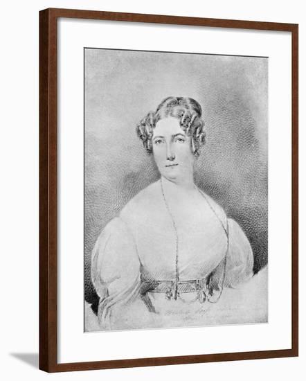 Sophie Dawes, Baronne De Feuchères (C1795-184), 1910-Thomas Lawrence-Framed Giclee Print