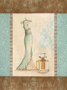 Aqua Fashion I by Sophie Devereux