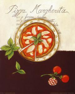 Pizza Margherita by Sophie Hanin