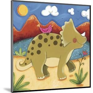 Baby Timmy The Triceratops by Sophie Harding