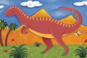 Izzy the Iguanodon by Sophie Harding