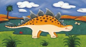 Steggy the Stegosaurus by Sophie Harding