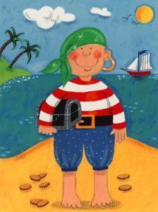 Treasure Island I by Sophie Harding