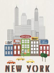 New York by Sophie Ledesma