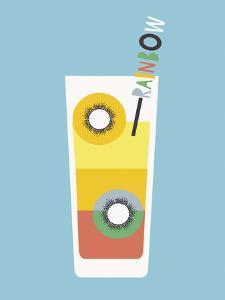 Stylish Cocktails - Rainbow by Sophie Ledesma