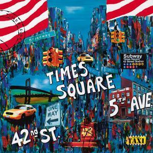 Times Square 5th Avenue by Sophie Wozniak