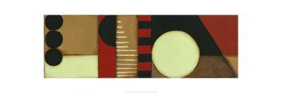 Sophisticated Loft Panel I-Jennifer Goldberger-Art Print