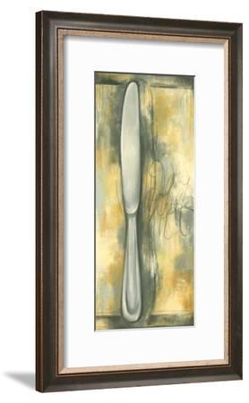 Sophisticated Silver IIII-Laura Nathan-Framed Art Print