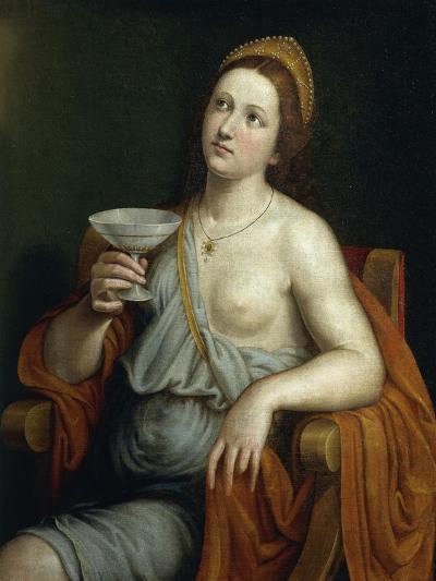 Sophonisba Drinking Poison-Giovanni Francesco Caroto-Giclee Print