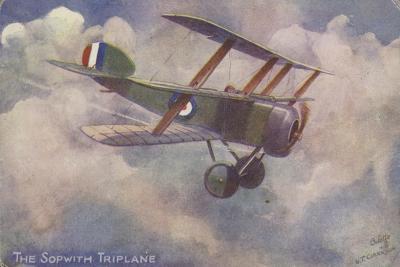 Sopwith Triplane--Giclee Print