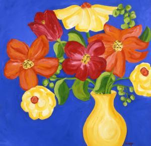 Brilliant Bouquet II by Soraya Chemaly